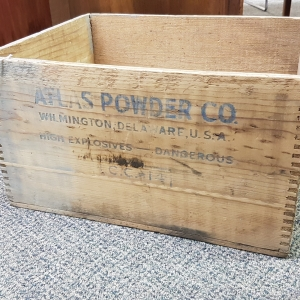 Atlas Powder crate 1