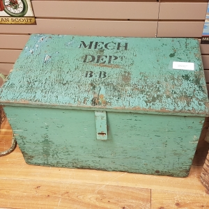 chippy green tool box