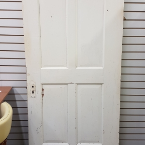 Heavy white door 2