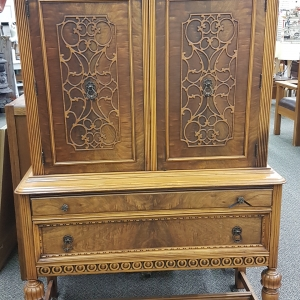 Burled Walnut Chest 1