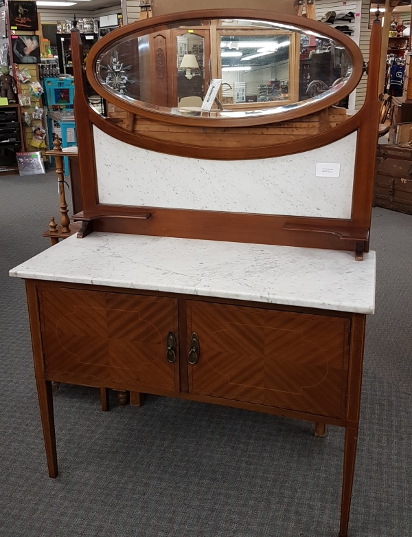 Marble top commode 7
