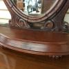 mahogany valet dresser mirror - 3