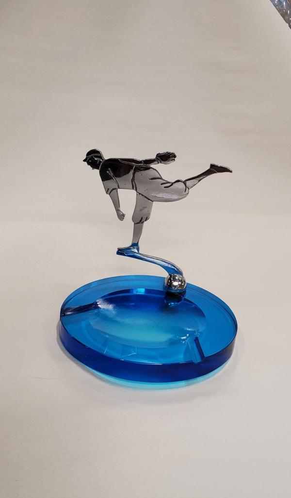 Figural Baseball Ashtray 1