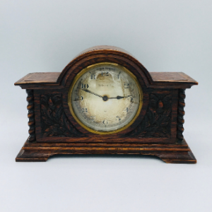 Oak Eight Day Mantle Clock