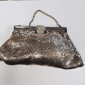 Whiting and Davis mesh handbag