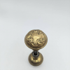 Ornate Brass Door Knob Set