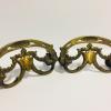 Pair Antique Brass Drawer Pulls