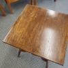 Antique Oak Parlor Table