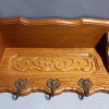 Antique Wall Mounted Coat Rack