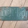 1930 Alberta License Plate