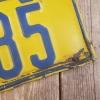 1933 Alberta License Plate