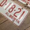 Pair 1965 Alberta License Plates