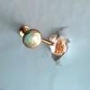 Alaska Black Diamond Necklace Earrings
