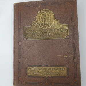 Gordon Belyea Limited General Catalogue