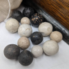 Antique Ballot Box with Marbles