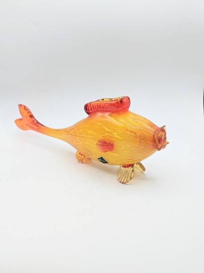 1950s ALTAGLASS Blown Glass Fish