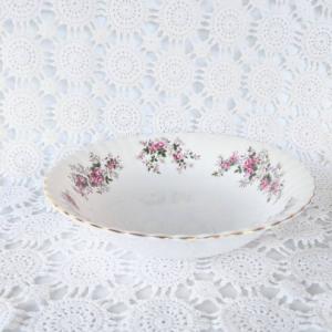 Lavender Rose Round Vegetable Bowl