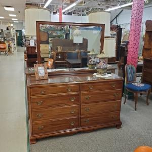 Vintage Gibbard Dresser and Mirror