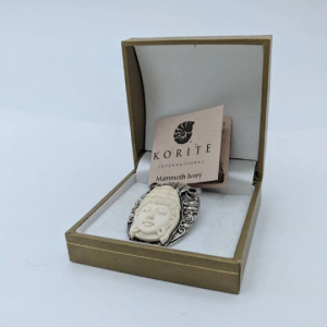 Korite Mammoth Ivory Pendant